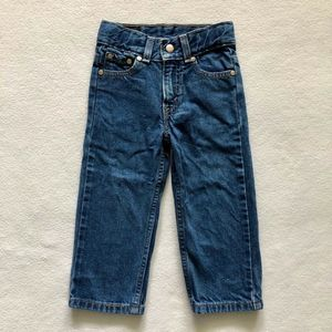 Levi's 515 Relaxed Fit Straight Leg Denim Jeans 2T